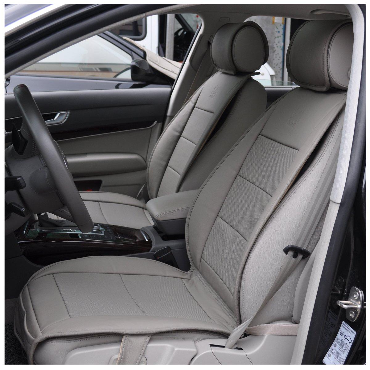 坐垫 高品质新款专车专用真皮汽车保护垫 灰色 福特蒙迪欧致胜专用