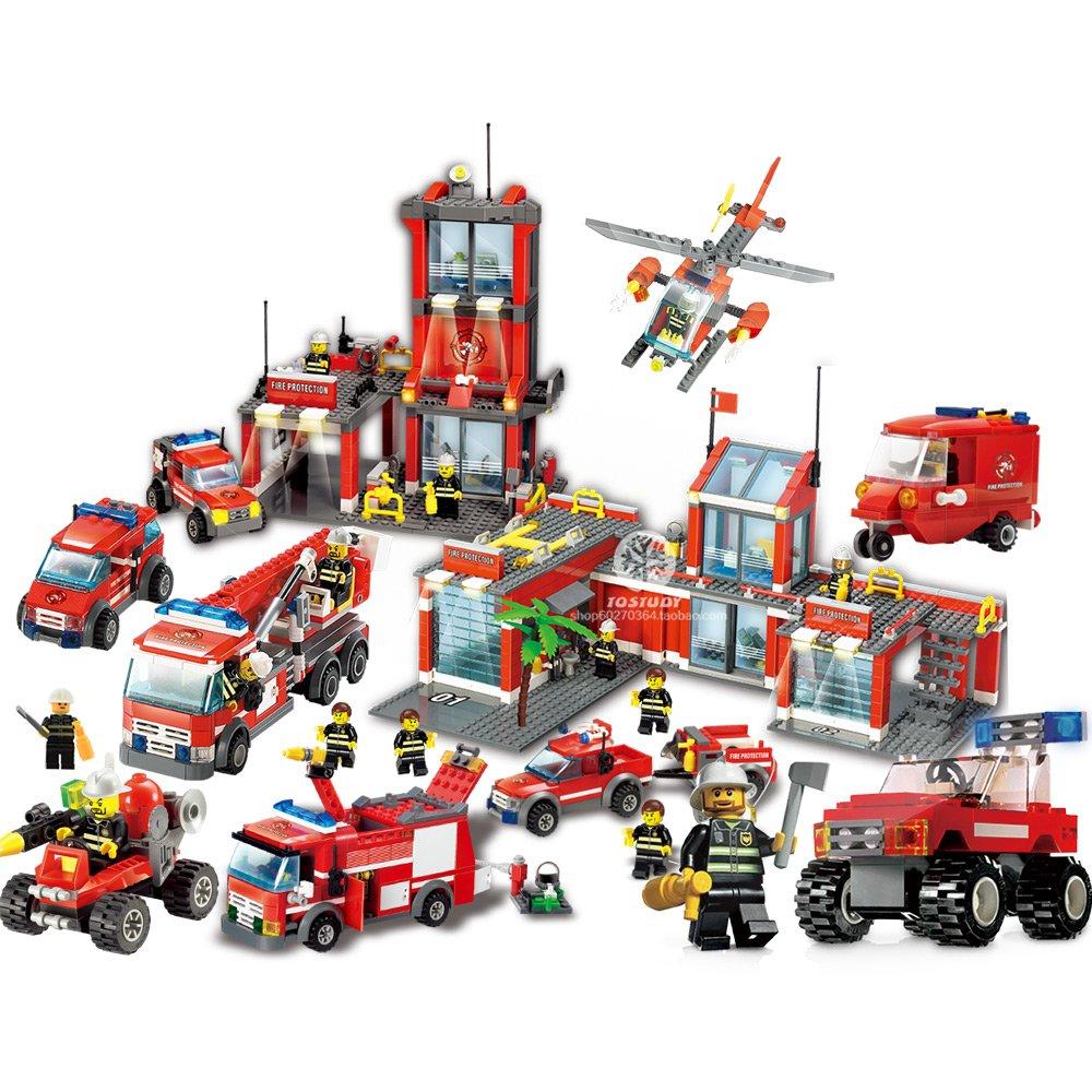 儿童益智立体拼装积木玩具模型