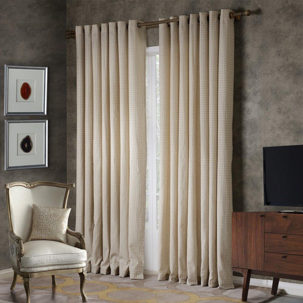 提花客厅卧室窗帘