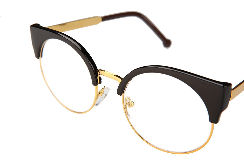 女潮男款圆眼镜框 圆形眼睛架