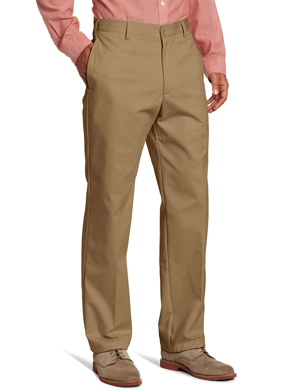 IZOD Men's American Chino Flat-Front Pant