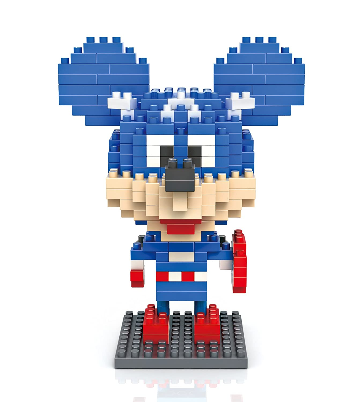 俐智 创意拼装 乐高式钻石颗粒积木 经典卡通系列 迪士尼系列-米奇