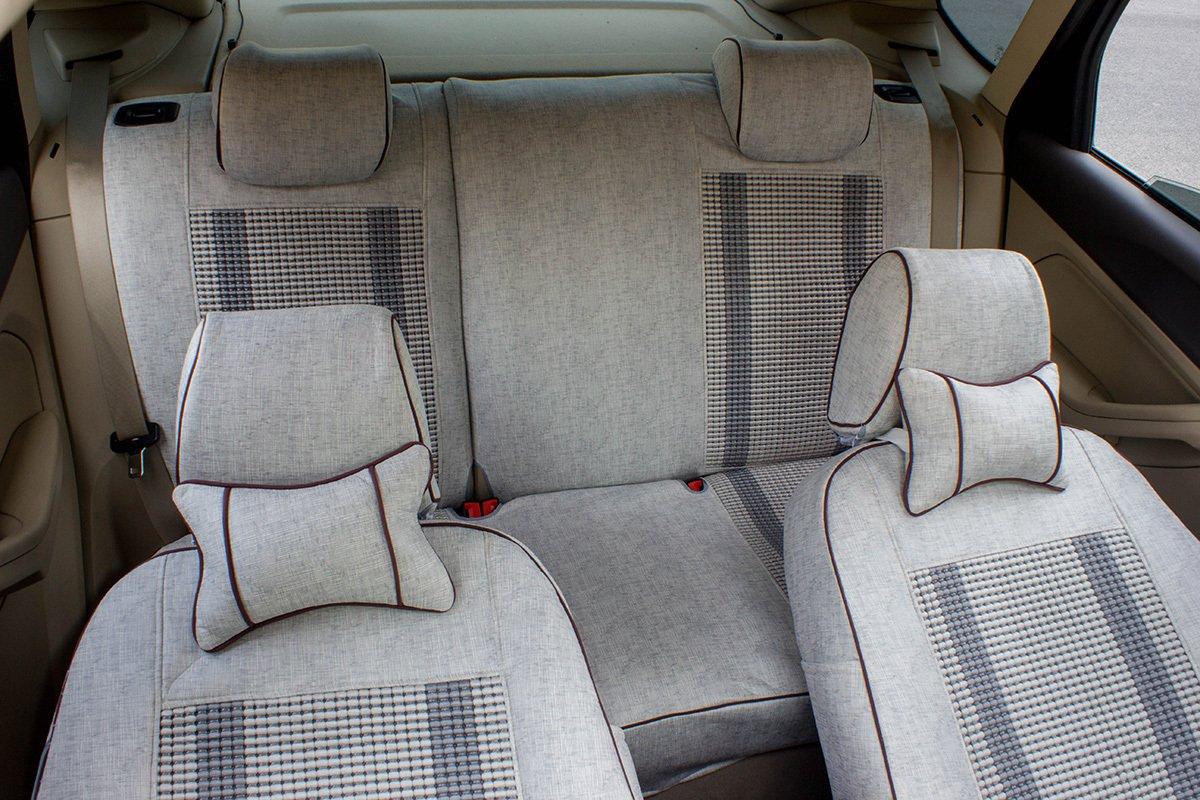福特麦柯斯双条冰丝专车专用汽车座套