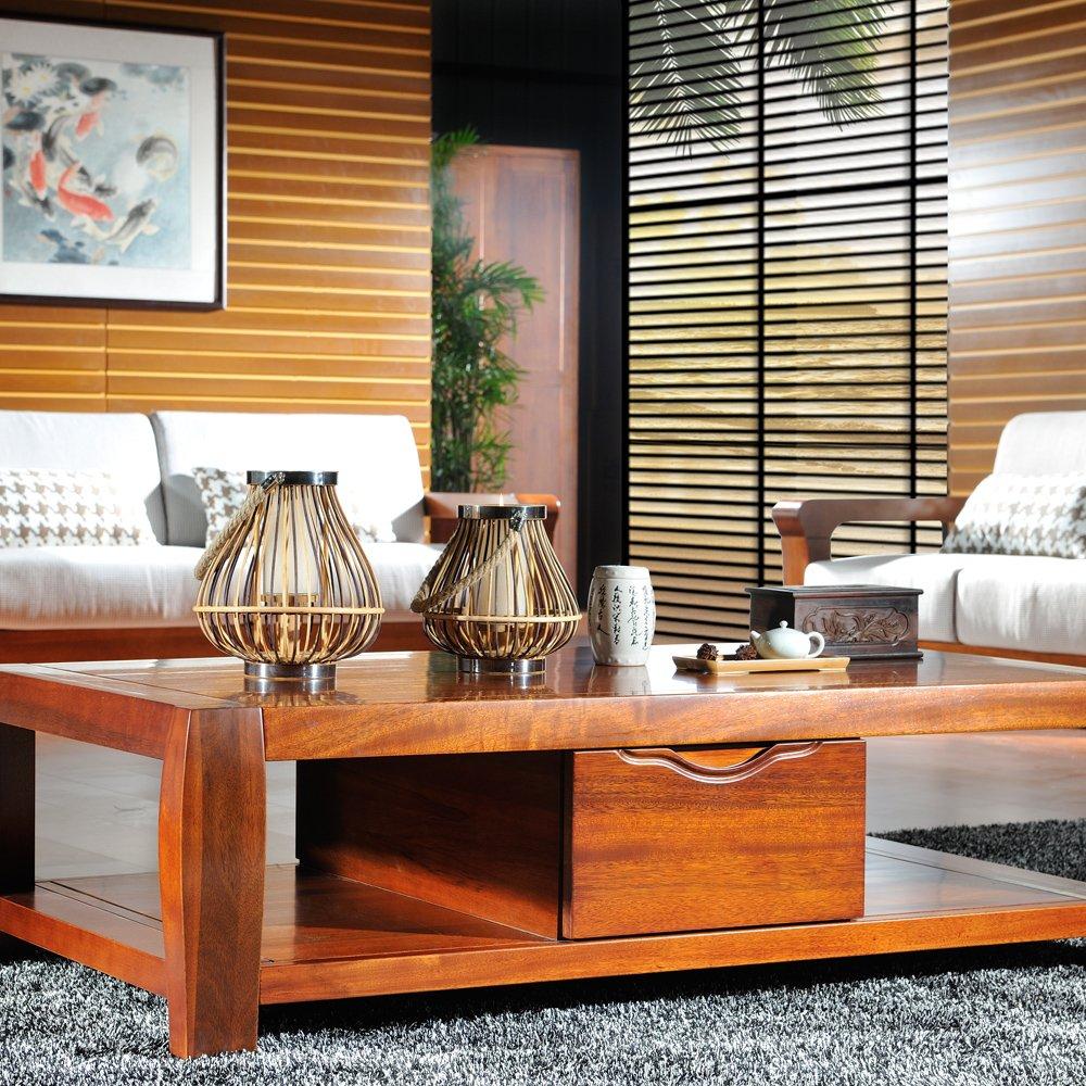 实木茶几 新中式客厅纯实木家具