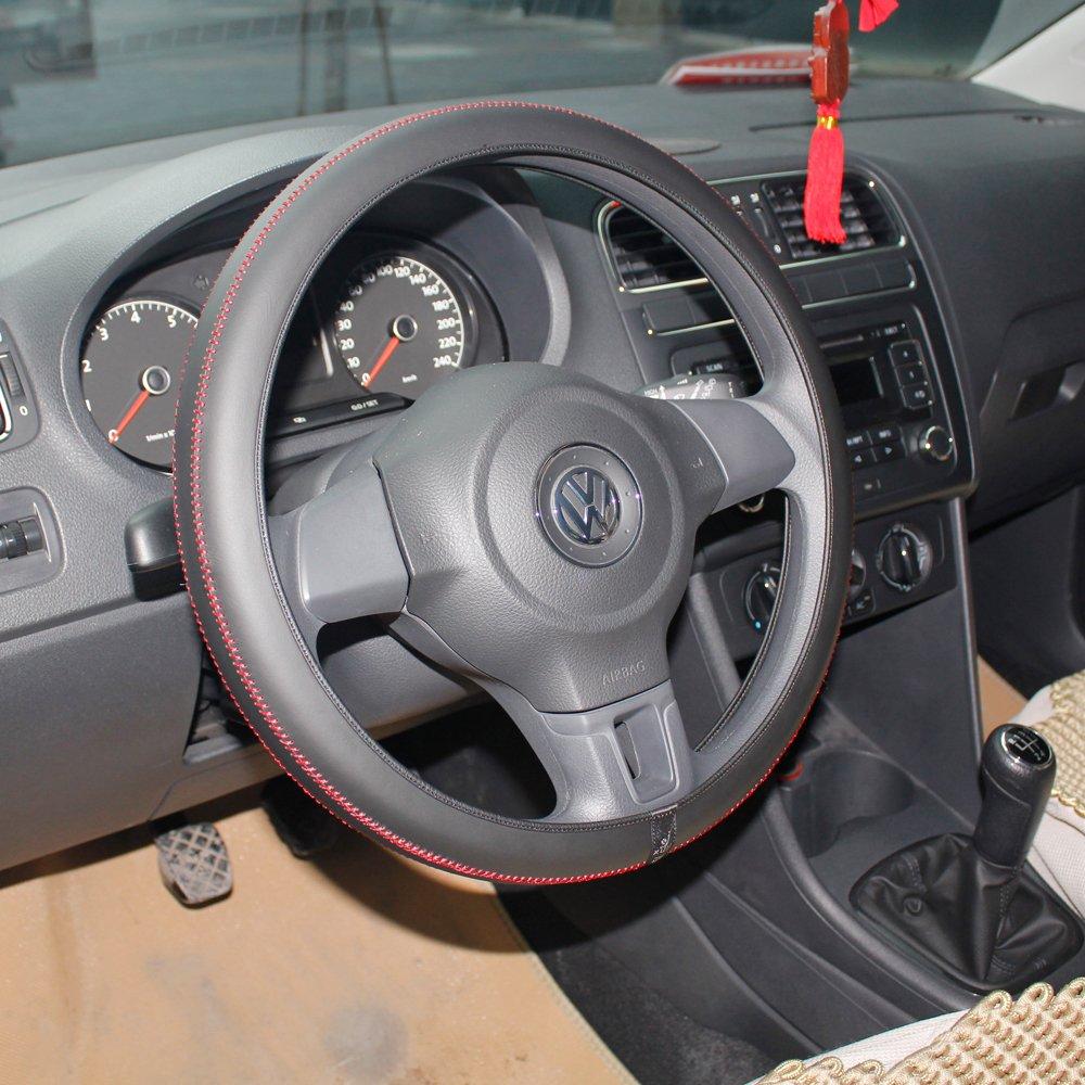 方向盘套把套把手套原厂diy  改装汽车把套四季通用方向盘套个性内饰