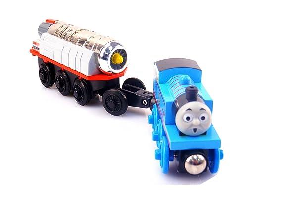 环保木制小火车