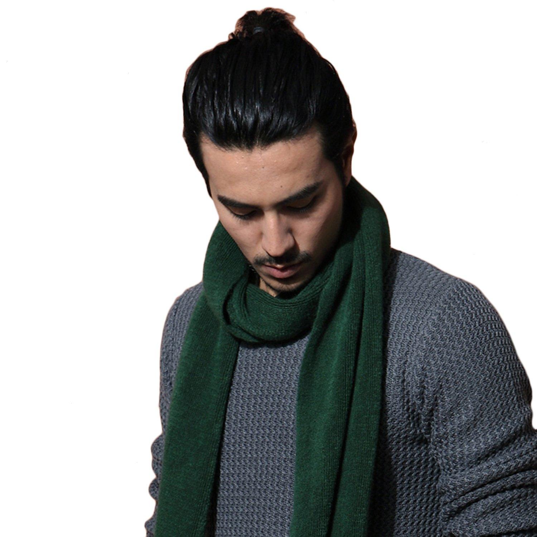 墨绿大衣搭配什么围巾