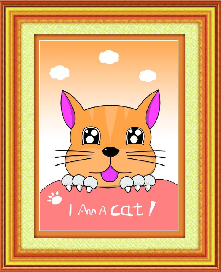 绣可爱的小猫客厅立体十字绣卡通动漫