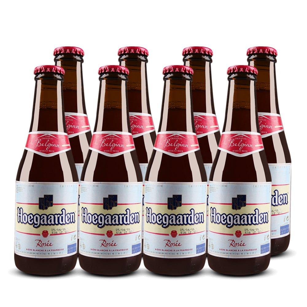 hoegaarden 福佳玫瑰 比利时原瓶进口 果味啤酒 250ml