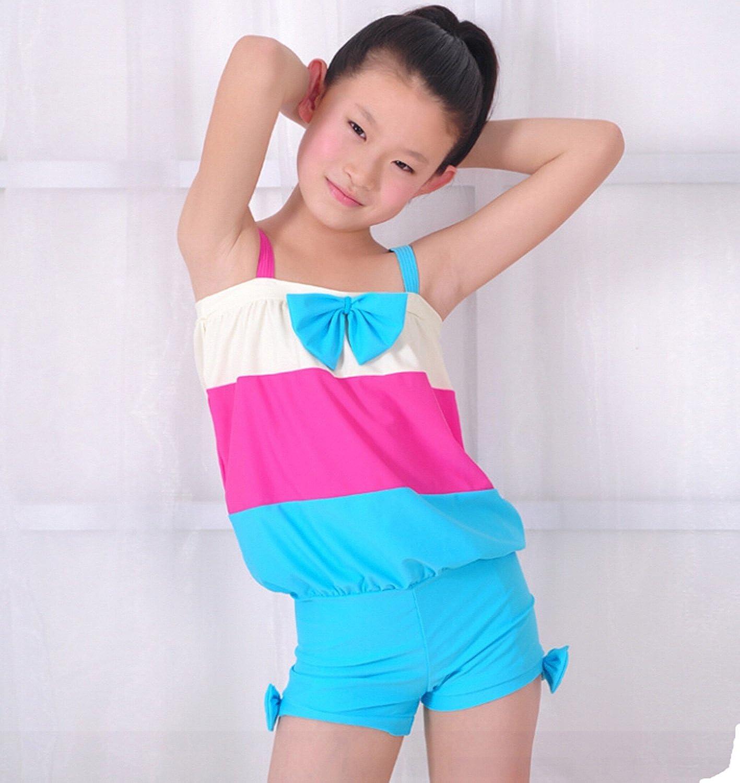 欧美色禁图_dxbr 多喜贝尔 泳装 儿童 泳衣 女童 中大童 学生泳衣 图色 xxl