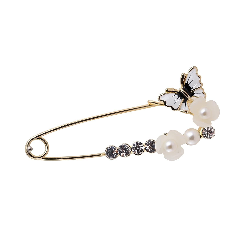 珍珠胸针胸花