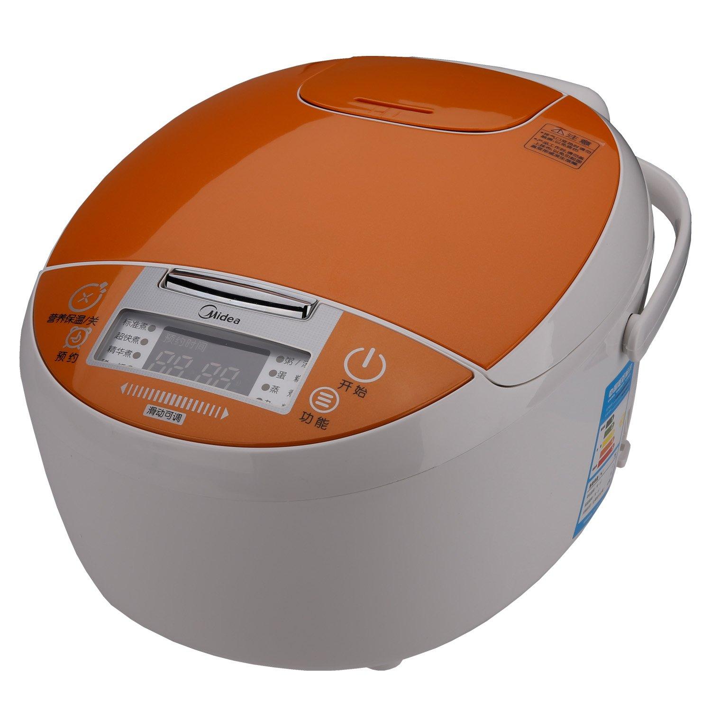 midea美的电饭煲wfs4018(8种烹饪功能,滑动触摸,4升加厚黄晶蜂窝内胆