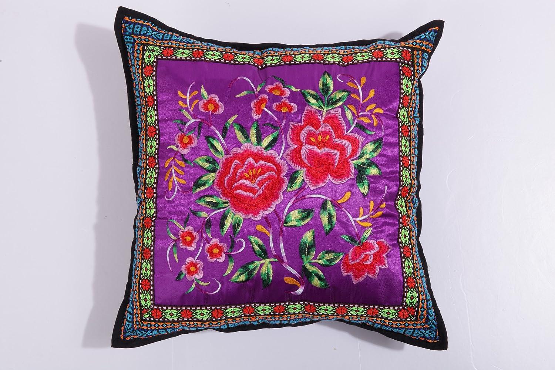 欧式沙发抱枕紫色