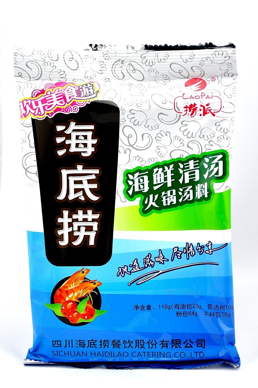 海底捞海鲜清汤火锅底料110g