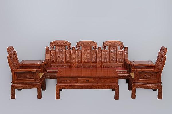 红木沙发非洲花梨木象头沙发仿古家具实木沙发