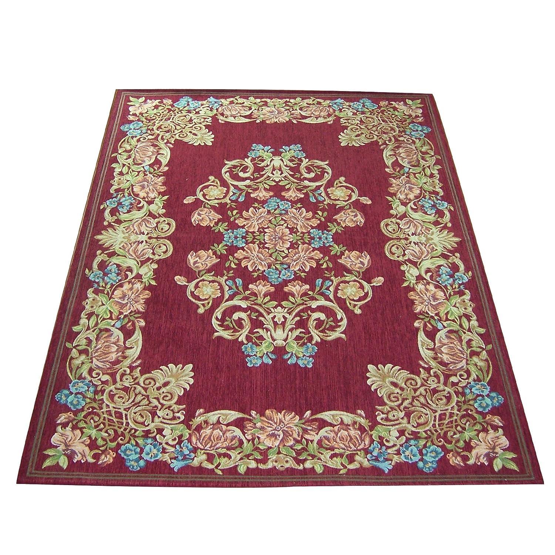 列欧式田园沙发卧室客厅茶几)地毯140*200cm