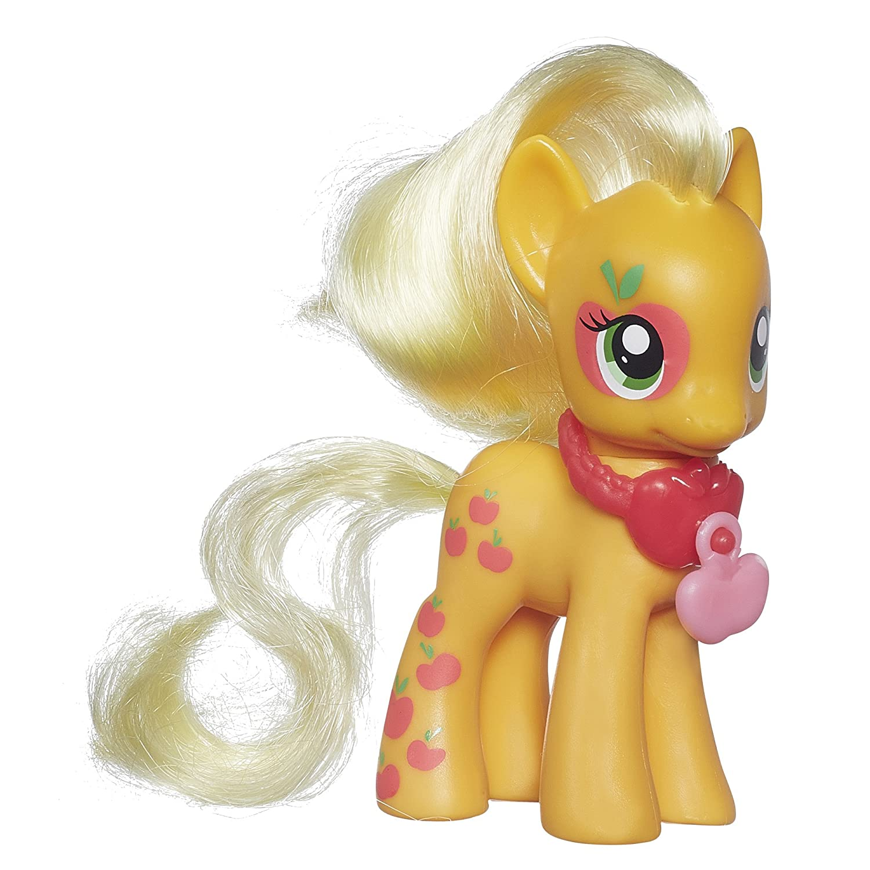 孩之宝 小马宝莉可爱标志系列基础小马--苹果