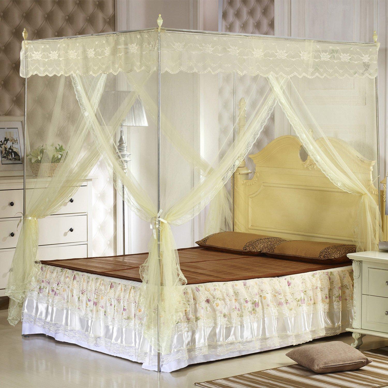 无支架蚊帐怎么安装 蒙古包蚊帐怎么清洗才对 掌握面料清洗正确姿势