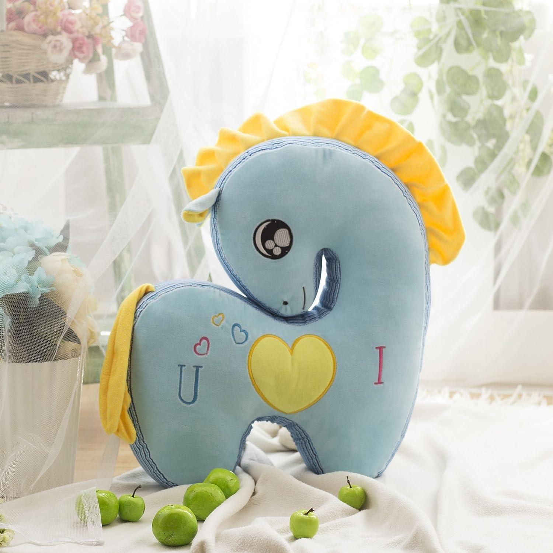 0518毛绒玩具吉祥物心心相印爱心可爱害羞马大号公仔玩偶布娃娃 女生