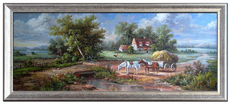 singjoy 尚简 尚简 满载而归 风景油画 家居客厅欧式壁挂玄关装饰画
