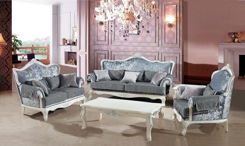 款式:一般的欧式沙发都是以1+1+3