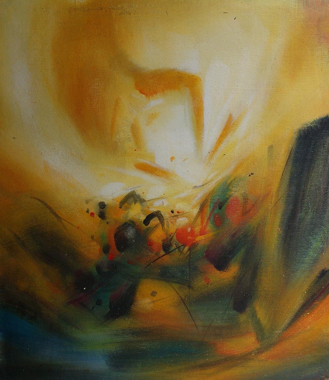 eapey 一品廊 手绘油画 抽象油画